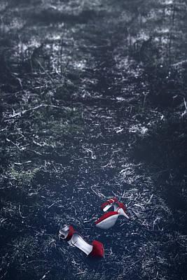 Stilettos Photograph - Red High Heels by Joana Kruse