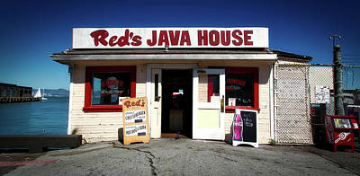 Red's Java House - San Francisco Art Print by Mountain Dreams