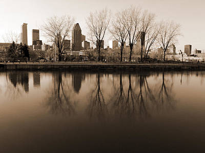 Reflections Art Print by Robert Knight