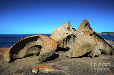Photograph - Remarkable Rocks by Andrew Michael