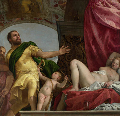 Respect  Art Print by Paolo Veronese