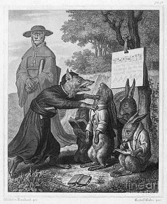 1846 Photograph - Reynard The Fox, 1846 by Granger