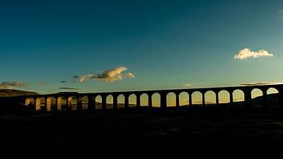 Summer Digital Art - Ribblehead Viaduct by Super Lovely