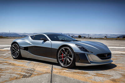 Photograph - #rimac #conceptone by ItzKirb Photography