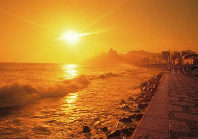 Photograph - Rio De Janeiro Brazil by Utah Images