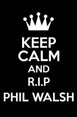 Australian Photograph - Rip Phil Walsh by Andrew Hunt