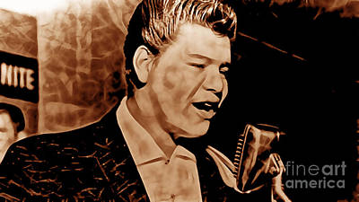 Rock And Roll Mixed Media - Ritchie Valens Collection by Marvin Blaine