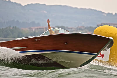 Photograph - Riva Olympic by Steven Lapkin