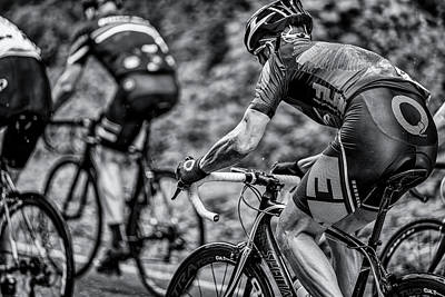 Photograph - Road Bike Racing by Peter Lakomy