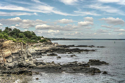 Photograph - Rocky Coast by Jane Luxton