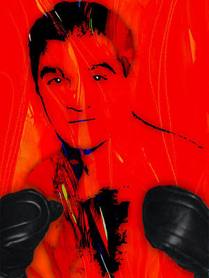 Boxing Mixed Media - Rocky Marciano Collection by Marvin Blaine