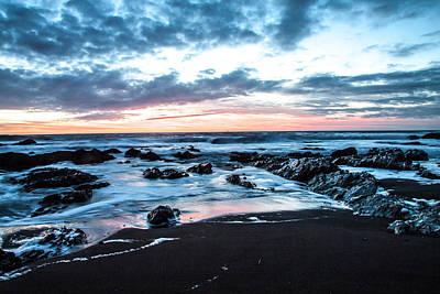 Sausalito Digital Art - Rodeo Beach, Sausalito, Ca by Ashley Perlstein