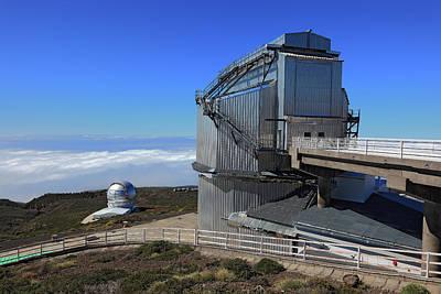 Roque De Los Muchachos Observatory Art Print