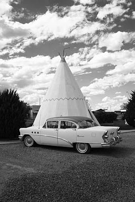 Photograph - Route 66 - Wigwam Motel by Frank Romeo