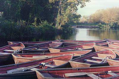 Rowing Boats Art Print by Joana Kruse