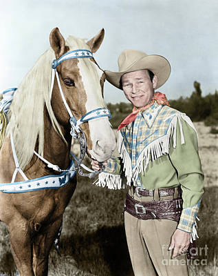 Photograph - Roy Rogers by Granger