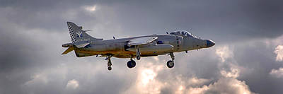 Photograph - Royal Navy Sea Harrier by Chris Smith