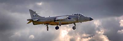 Photograph - Royal Navy Sea Harrier by Chris Smith