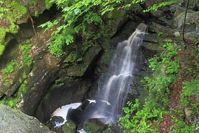 Photograph - Royalston Falls by John Burk