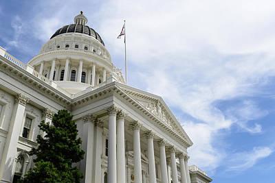 Sacramento Capitol Building Art Print