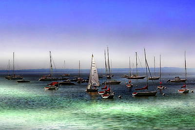 Photograph - Sailboats And Yachts by Anthony Dezenzio