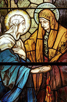 Digital Art - Saint Anne's Windows by Jim Proctor