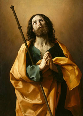 Painting - Saint James The Greater by Guido Reni
