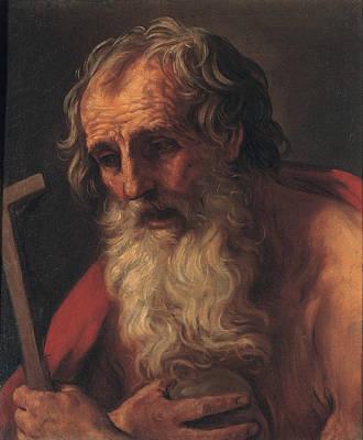 Painting - Saint Jerome by Guido Reni