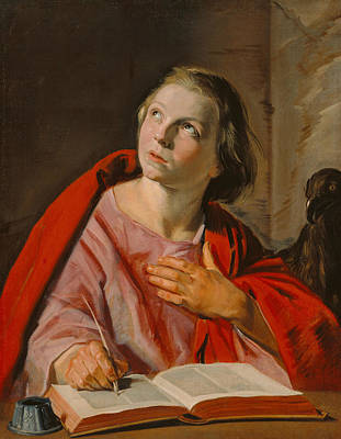 Painting - Saint John The Evangelist by Frans Hals