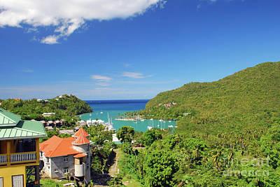 Photograph - Saint Lucia by Gary Wonning