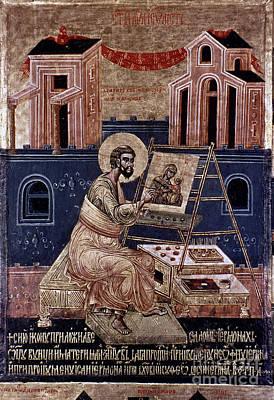 Saint Luke Art Print by Granger