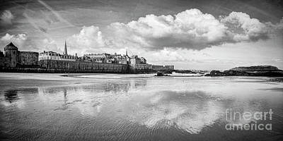 Photograph - Saint-malo In Early Morning by Colin and Linda McKie