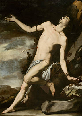 Painting - Saint Sebastian by Jusepe de Ribera