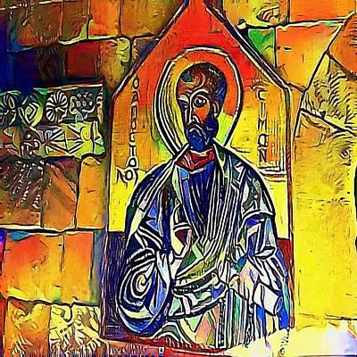 saints - My WWW vikinek-art.com Art Print by Viktor Lebeda