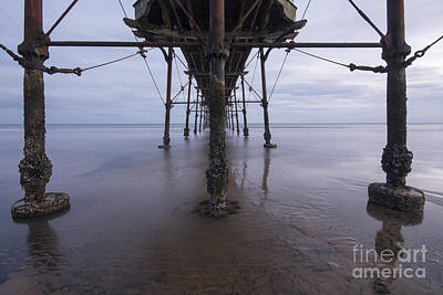 North Sea Wall Art - Photograph - Saltburn Pier by Smart Aviation