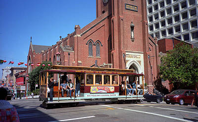 Photograph - San Francisco Cable Car by Frank Romeo