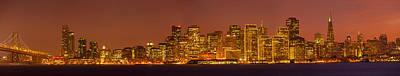 Bay Bridge Photograph - San Francisco Financial District by Panoramic Images