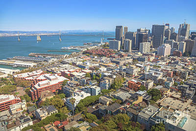 Photograph - San Francisco Oakland Bridge by Benny Marty