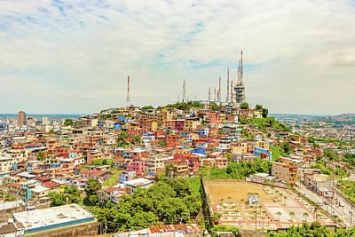 Photograph - Santa Ana Hill In Guayaquil, Ecuador. by Marek Poplawski