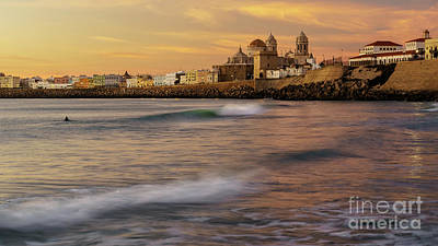 Photograph - Santa Maria Del Mar Beach Cadiz Spain  by Pablo Avanzini