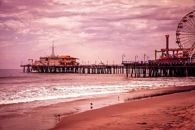 Photograph - Santa Monica Pier Collection- 7/36 by Gene Parks
