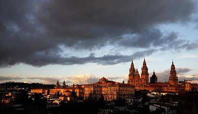 Santiago De Compostela Art Print