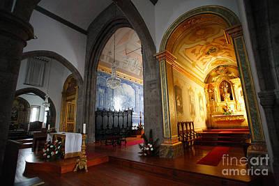 Azoren Photograph - Sao Miguel Arcanjo Church by Gaspar Avila
