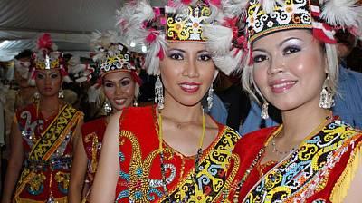 Sarawak Cultural Dancers Original by Ali Mohamad