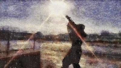 Army Air Service Painting - SAS by John Springfield