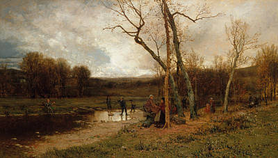 Painting - Saturday Afternoon by Jervis McEntee