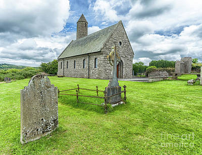Photograph - Saul Church, Downpatrick by Jim Orr