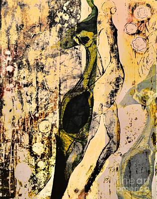 Mixed Media - 3 Seasons by Gail Butters Cohen