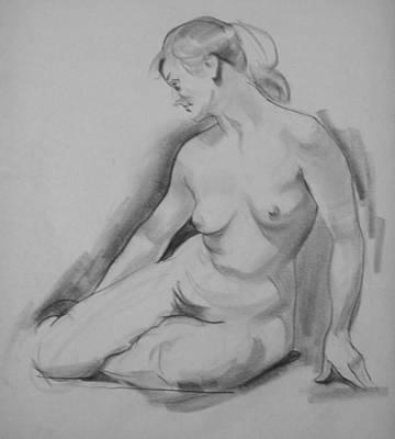 Drawing - Balanced Weight by Robert Holden