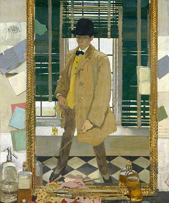 Painting - Self-portrait by William Orpen